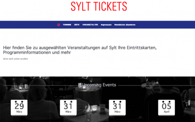Sylt Tickets